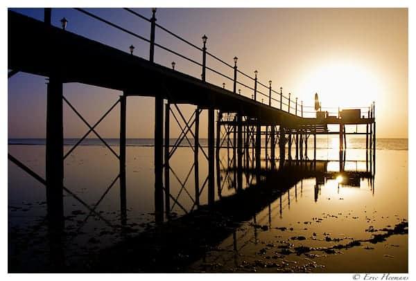 Photographie de Paysage - Lever de Soleil sur la mer tôt le matin