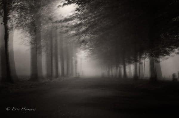 Flou de bougé volontaire sur une photo - © Eric Heymans