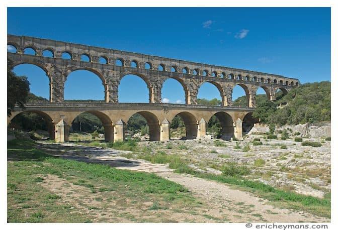 Provence - Pont du Gard - Vue du chemin - Photo pas très originale