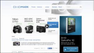Comapraison de la netteté d'objectifs sur DXOMARK