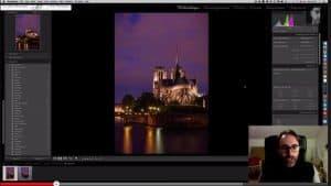 Video sur l'amélioration de la netteté d'une photo sous lightroom 5
